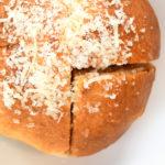 Sourdough, Parmesan Cheese, Garlic Oil, Sea Salt