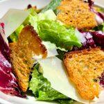 romaine salad, crouton, parm