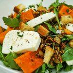 mozzarella squash salad