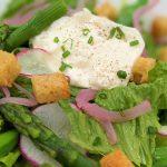 Burrata, Romaine, Snap Peas, Asparagus, Radish, Croutons, Lemon VinaigretteVegetarian